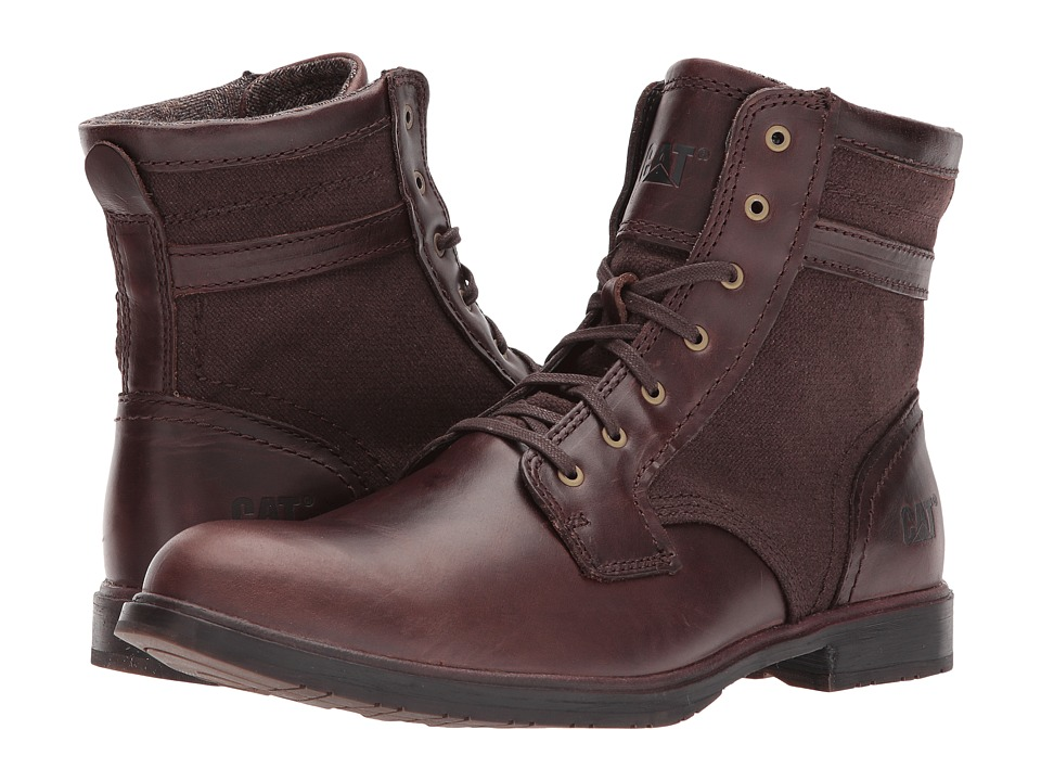 Caterpillar Abe Canvas II (Dark Brown) Men