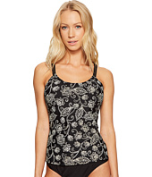 Next by Athena - Vidya Third Eye 2 Shirred Tankini Top