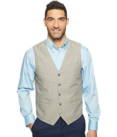 Perry Ellis - Slim Fit End on End Linen Vest