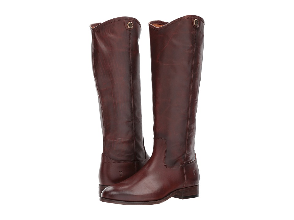 Frye - Melissa Button 2 (Redwood) Cowboy Boots