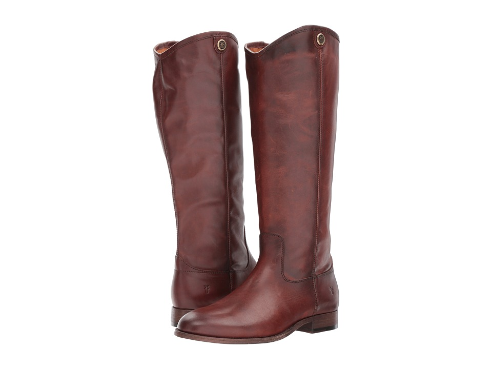 Frye Melissa Button 2 (Redwood Extended) Cowboy Boots
