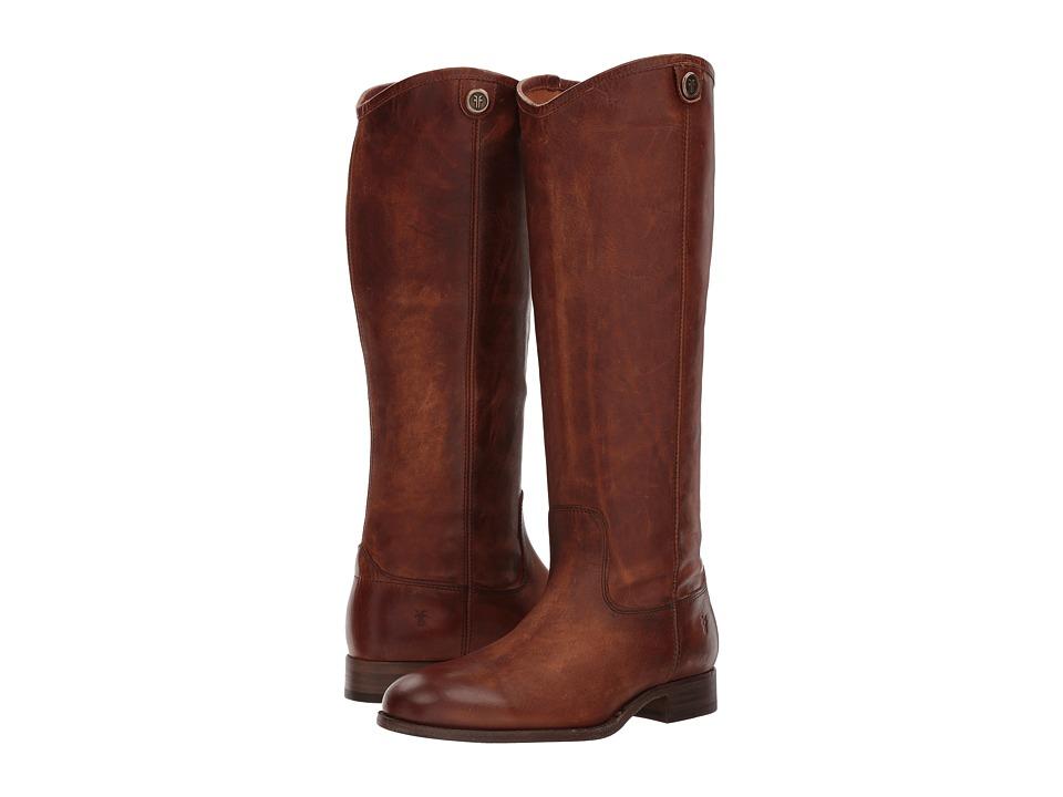 Frye Melissa Button 2 (Cognac) Cowboy Boots