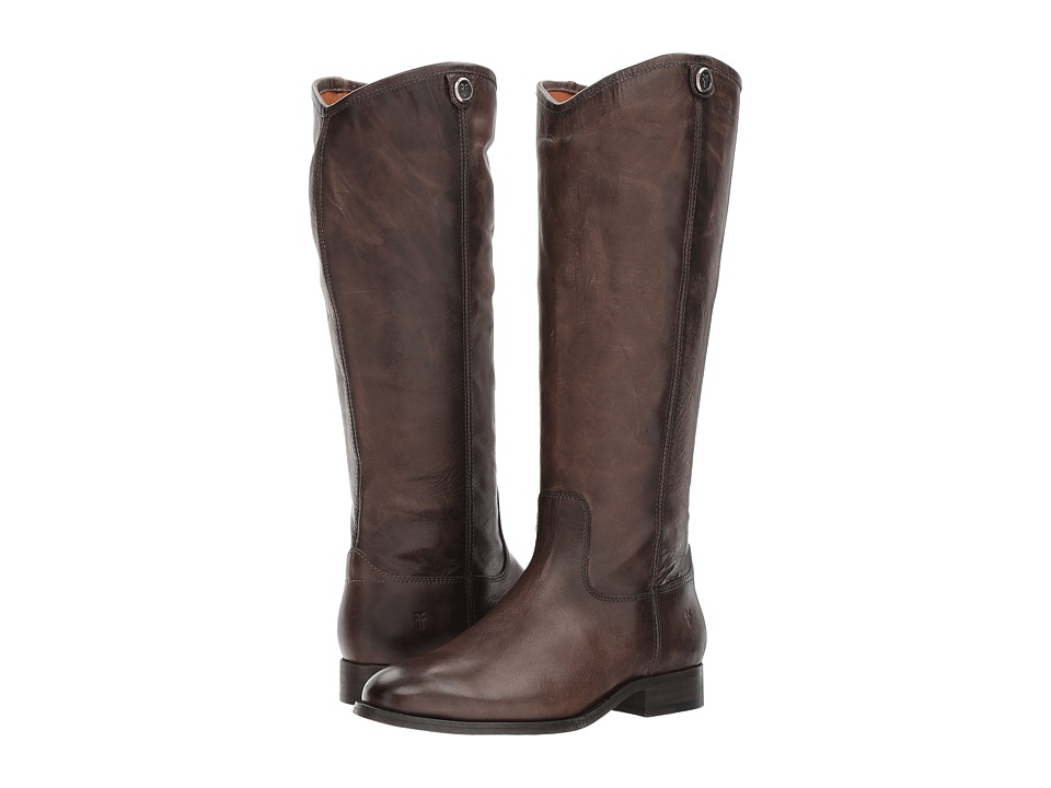 Frye Melissa Button 2 (Slate Extended) Cowboy Boots