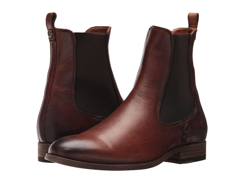 Frye Melissa Chelsea (Cognac) Women's Pull-on Boots