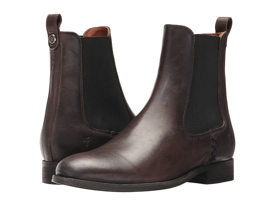 Frye Melissa Chelsea (Slate) Women's Pull-on Boots