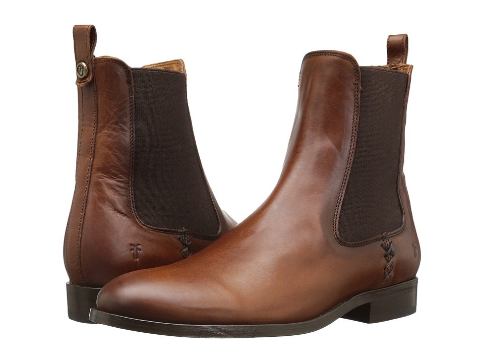 Frye Melissa Chelsea (Redwood) Women's Pull-on Boots