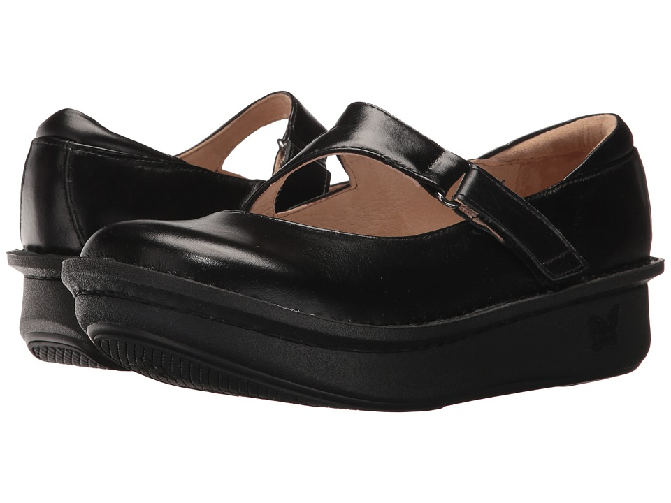 Alegria Dayna (Jet Luster) Women's Clog Shoes
