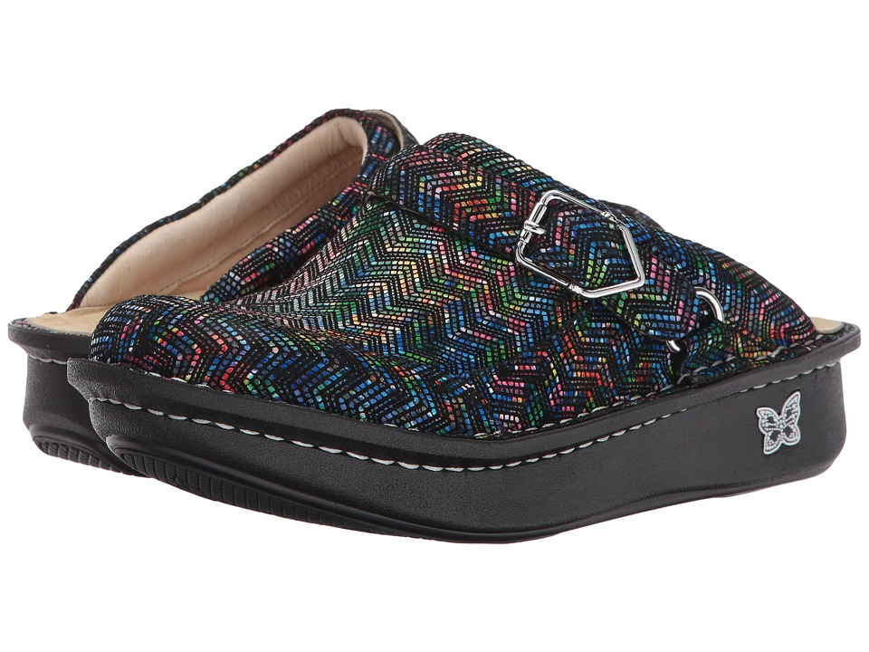 Alegria - Seville (Ric Rack Rainbow) Womens Clog Shoes
