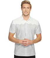 Perry Ellis - Short Sleeve Graphic Linear Print Shirt