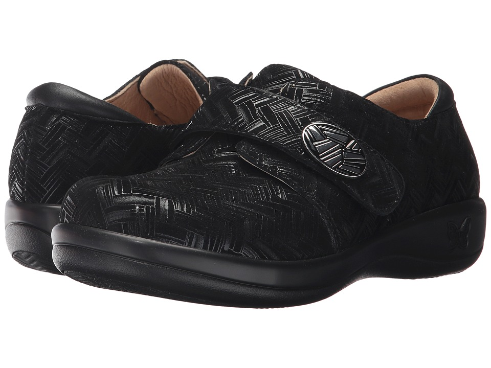 Alegria Joleen (Interlockin' Black) Slip-On Shoes