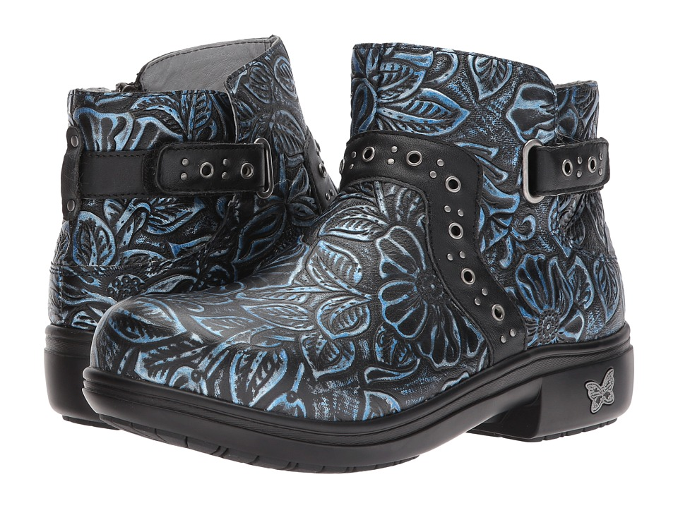 Alegria Zoey (Blue Romance) Women's Pull-on Boots