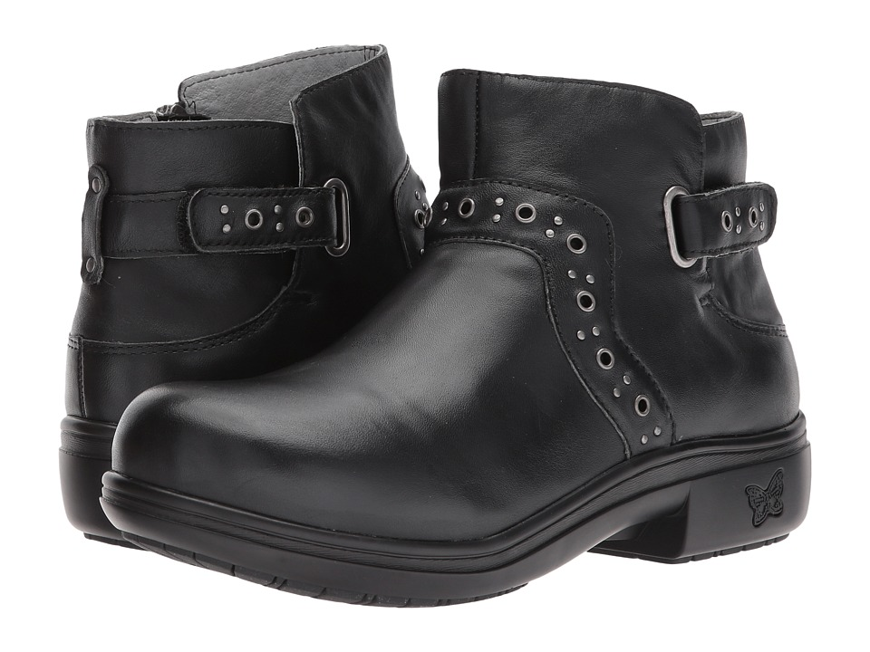 Alegria Zoey (Black Nappa) Women's Pull-on Boots