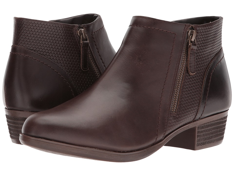 Rockport Cobb Hill Collection Cobb Hill Oliana Panel Boot (Stone Pull Up Leather) Women's Shoes