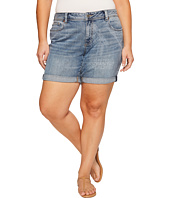 Lucky Brand - Plus Size Georgia Roll Up Shorts