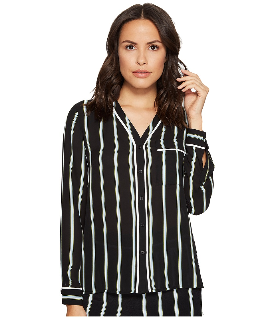 1.STATE - High-Low Pocket Blouse