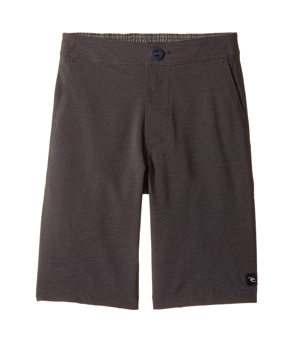 Rip Curl Kids - Omaha Walkshorts (Big Kids) (Black) Boys Shorts