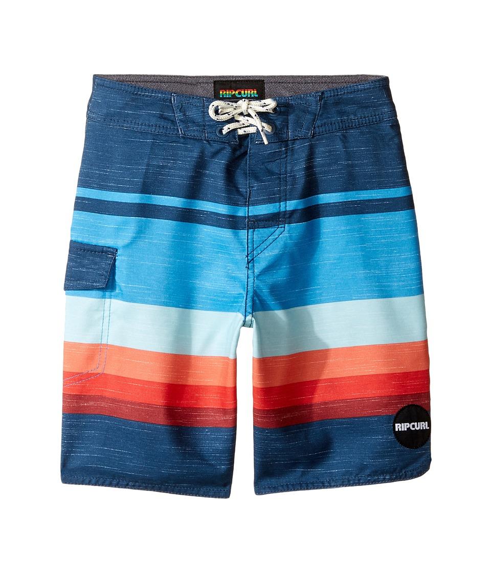 Rip Curl Kids Goldenhour Boardshorts (Big Kids) (Navy) Boy