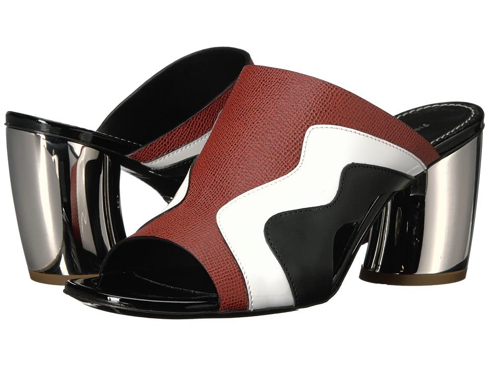 Proenza Schouler PS28230 (Siena/Bianco/Nero) High Heels
