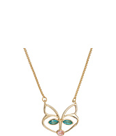 Betsey Johnson - CZ Stone Fox Pendant Necklace