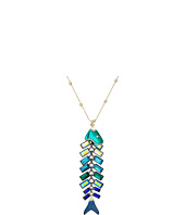 Betsey Johnson - Fish Pendant Long Necklace