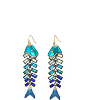 Betsey Johnson - Fish Linear Earrings