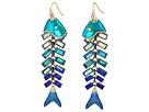 Betsey Johnson - Fish Linear Earrings
