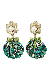 Betsey Johnson - Seashell Drop Earrings