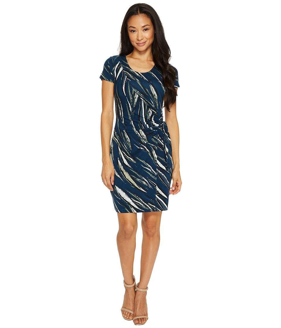 NIC+ZOE Petite Tiger Lily Dress (Multi) Women