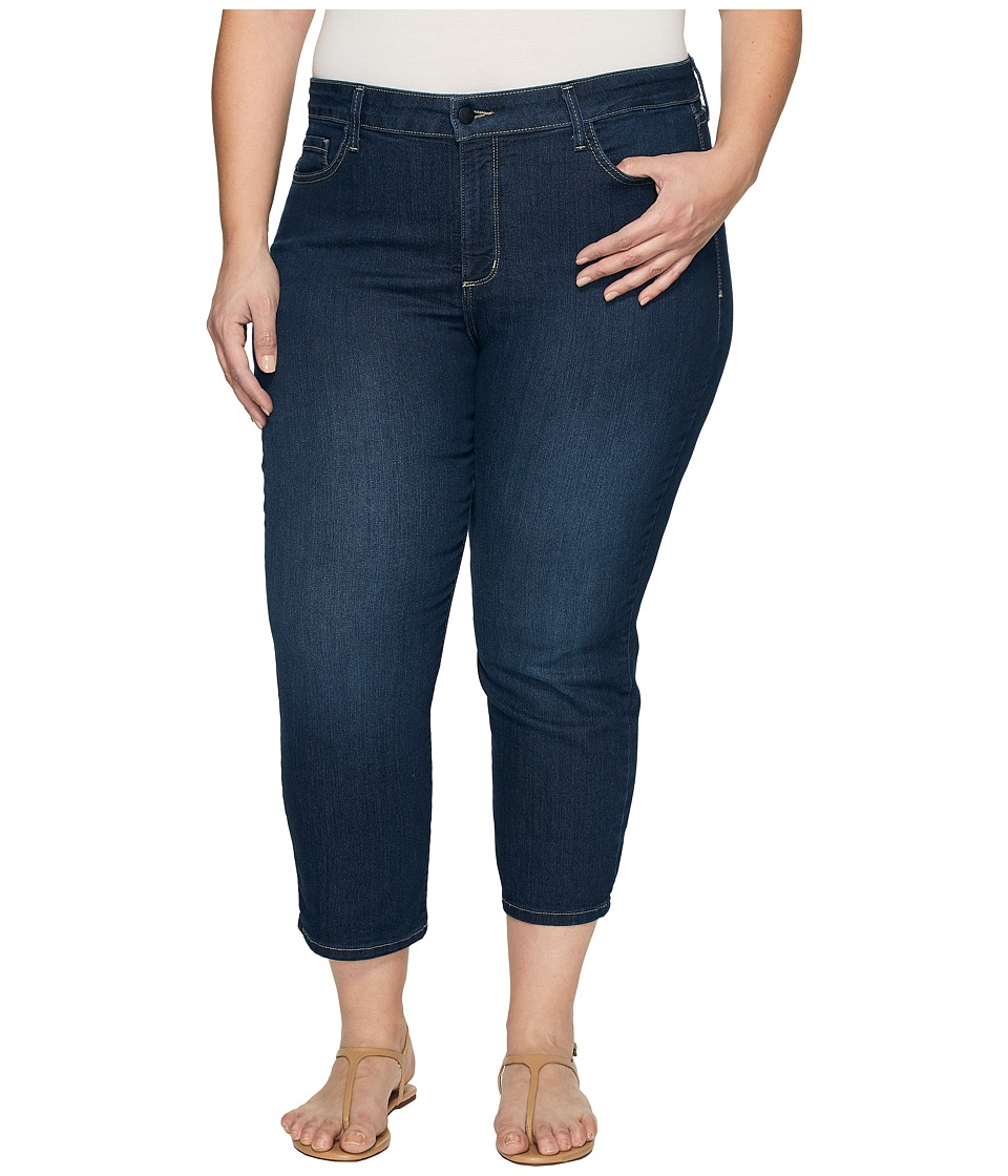 NYDJ Plus Size Plus Size Marilyn Capris in Hollywood Wash (Hollywood Wash) Women