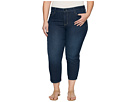 NYDJ Plus Size Plus Size Marilyn Capris in Hollywood Wash