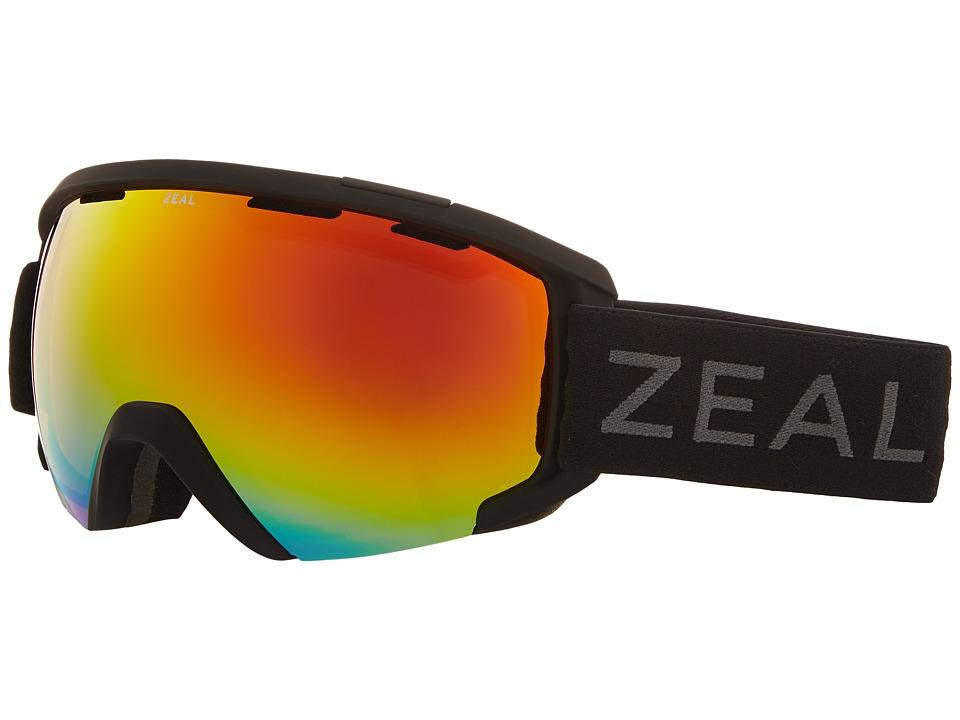 Zeal Optics Slate (Dark Night w/ Phoenix Mirror Lens) Goggles