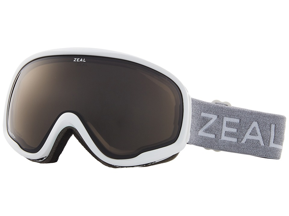 Zeal Optics Forecast (White Out w/ Automatic GB Lens) Goggles