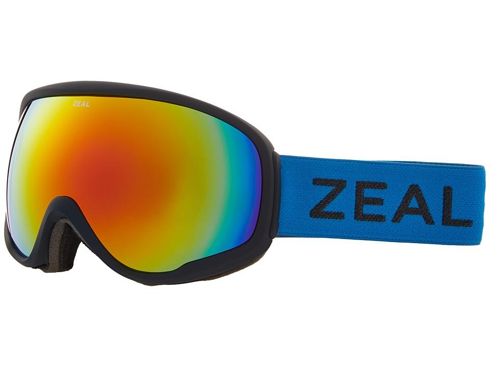 Zeal Optics Forecast (Azure w/ Polarized Phoenix Mirror Lens) Goggles