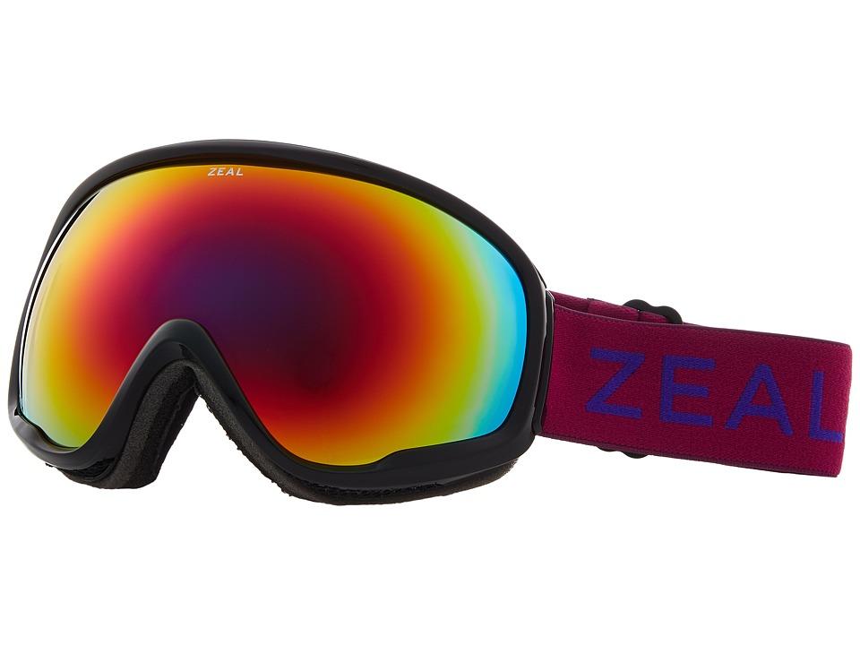 Zeal Optics Forecast (Boysenberry w/ Alchemy Mirror Lens) Goggles