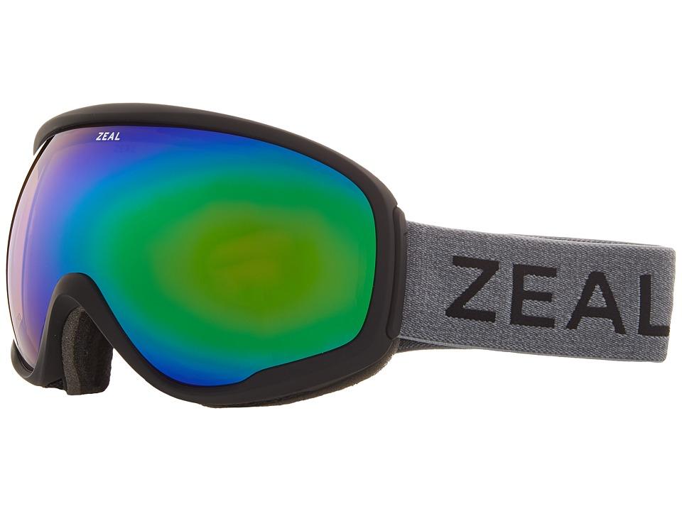 Zeal Optics Forecast (Greybird w/ Jade Mirror Lens) Goggles