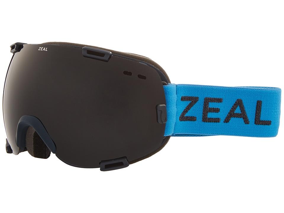 Zeal Optics Voyager (Azure w/ Dark Grey Lens) Goggles