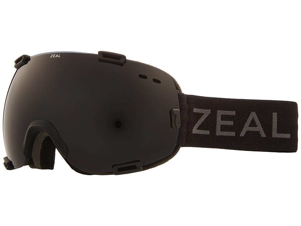 Zeal Optics Voyager (Dark Night w/ Dark Grey Lens) Goggles