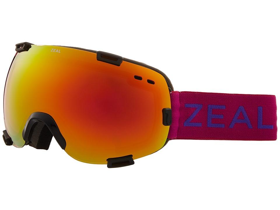 Zeal Optics Voyager (Boysenberry w/ Phoenix Mirror Lens) Goggles
