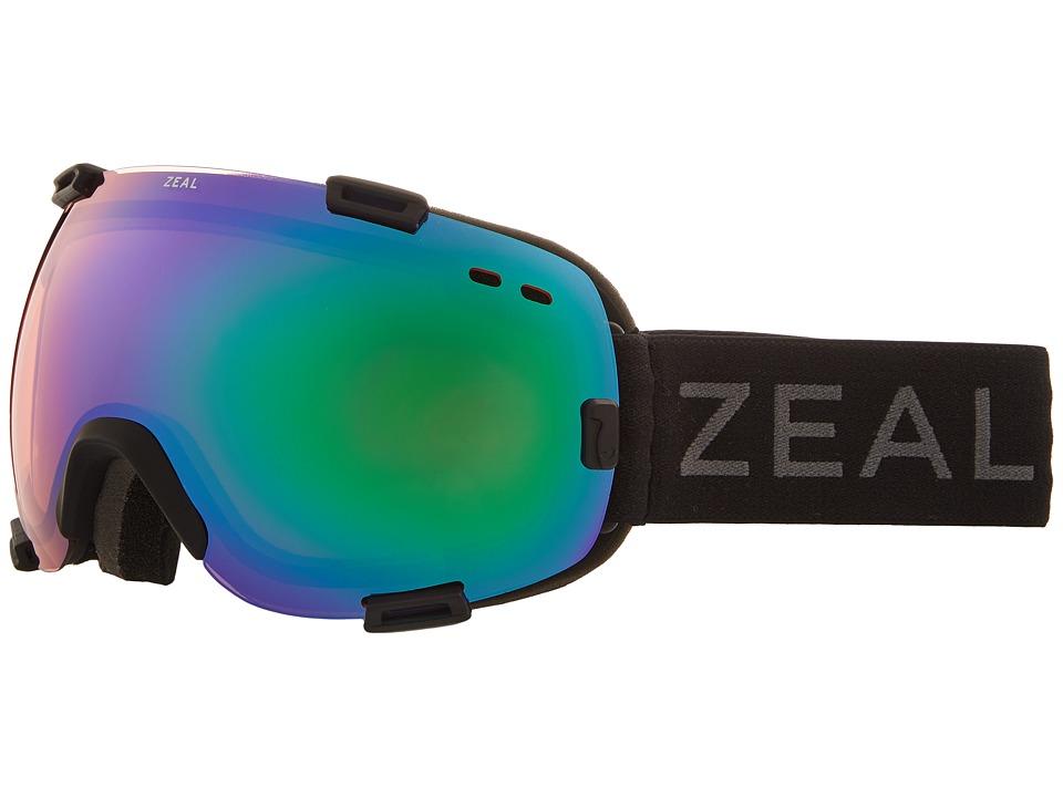 Zeal Optics Voyager (Dark Night w/ Jade Mirror Lens) Goggles