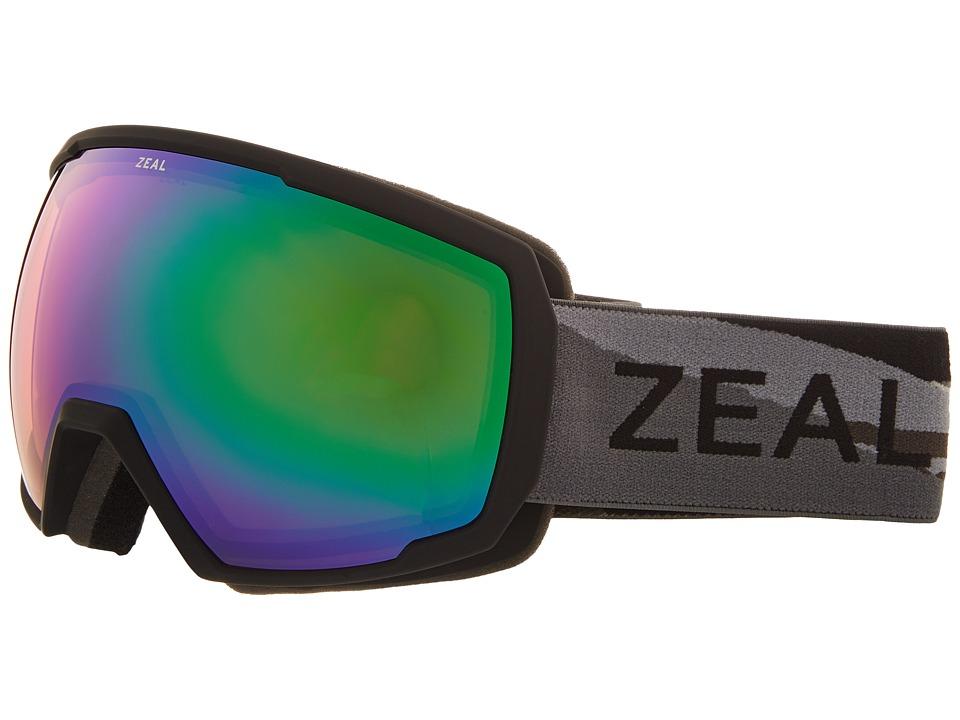Zeal Optics Nomad (Horizon Grey w/ Jade Mirror Lens) Snow Goggles