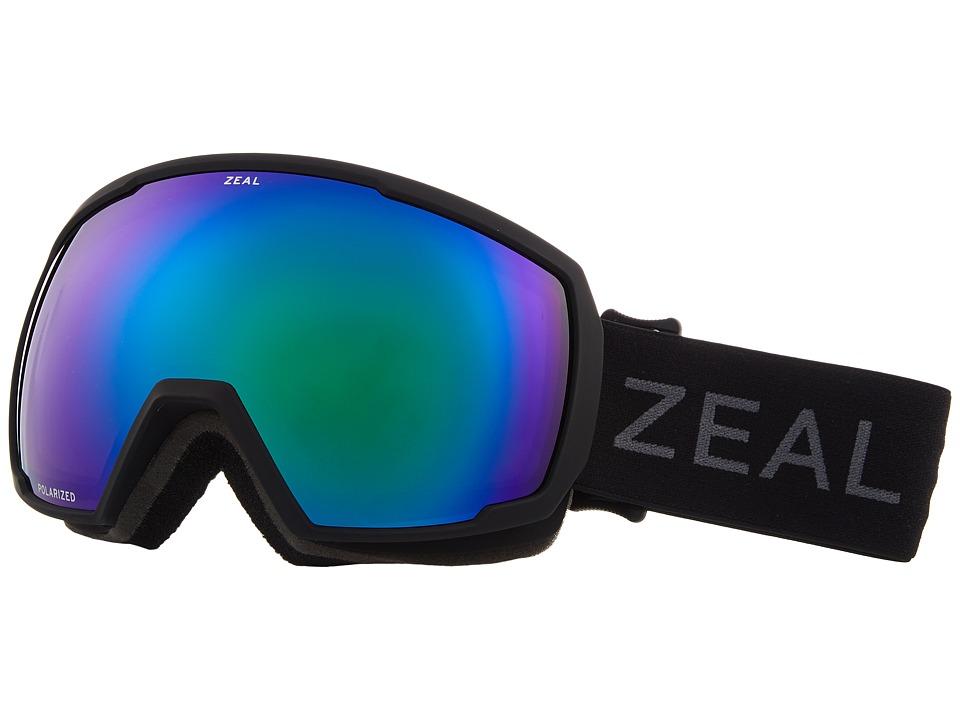 Zeal Optics Nomad (Dark Night w/ Polarized Jade Mirror Lens) Snow Goggles