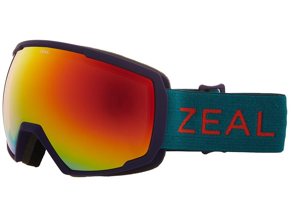 Zeal Optics Nomad (Purple Jade w/ Phoenix Mirror Lens) Snow Goggles