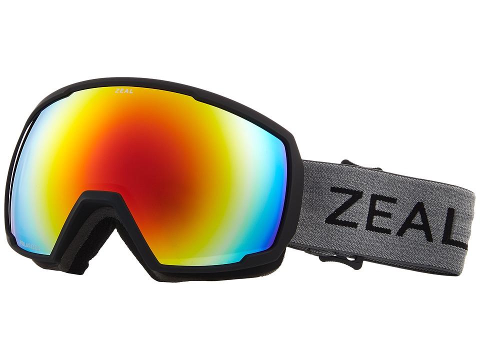 Zeal Optics Nomad (Greybird w/ Polarized Phoenix Mirror Lens) Snow Goggles