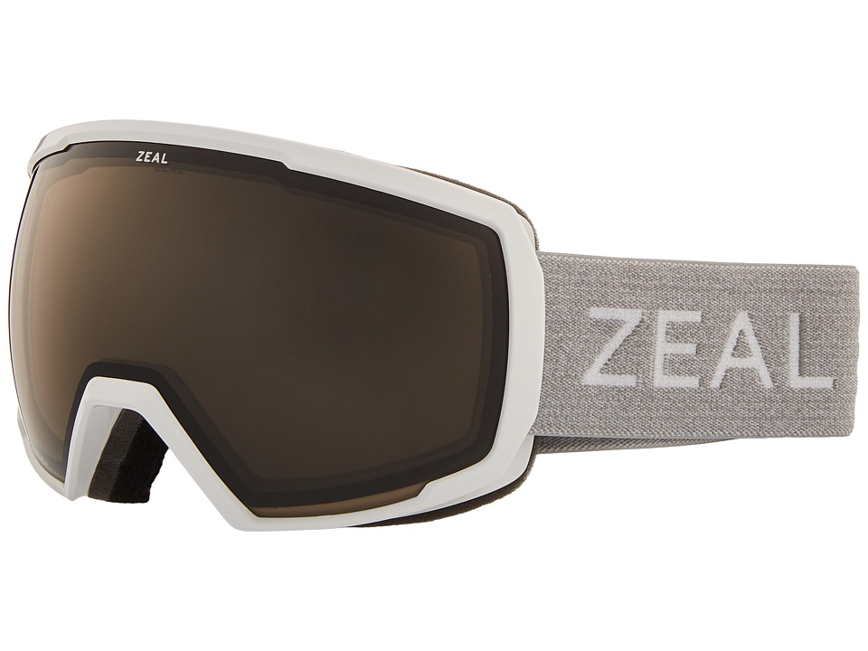 Zeal Optics Nomad (White Out w/ Automatic GB Lens) Snow Goggles
