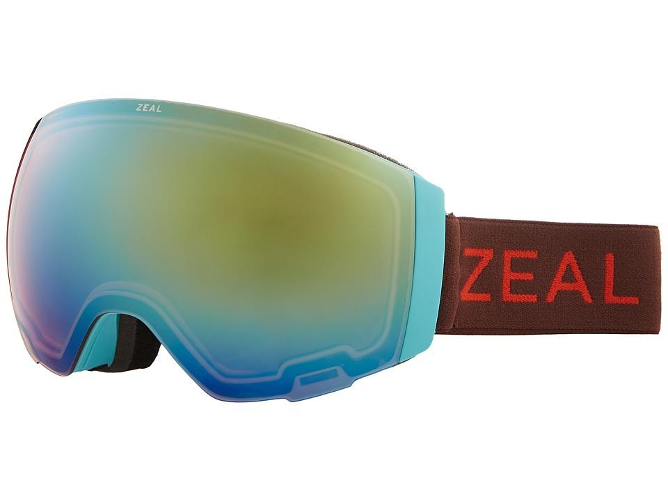 Zeal Optics Portal (Kaleidoscope Dream w/ Alchemy Mirror Lens + Sky Blue Mirror) Snow Goggles