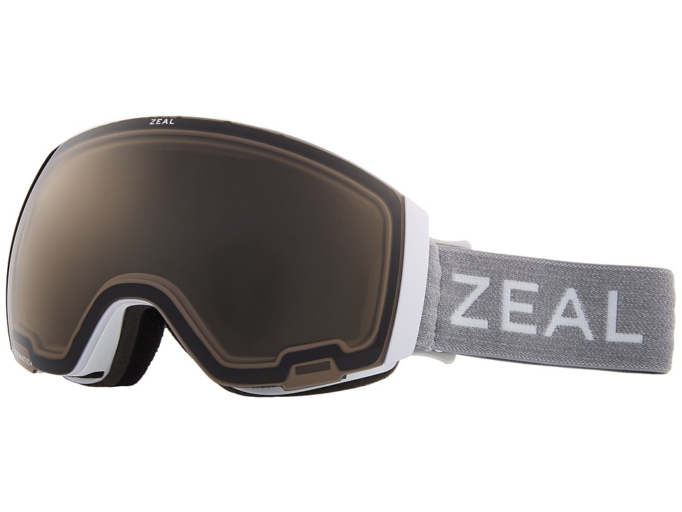Zeal Optics Portal (White Out w/ Automatic GB Lens + Sky Blue Mirror Lens) Snow Goggles