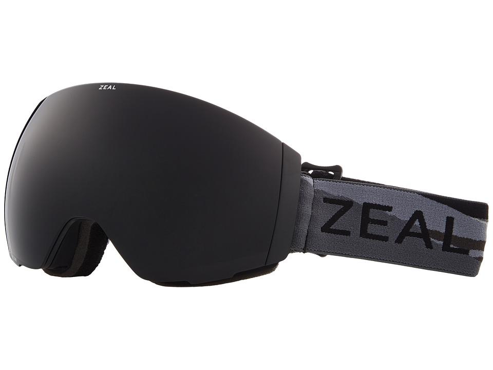 Zeal Optics Portal (Horizon Grey w/ Dark Grey Lens + Sky Blue Mirror Lens) Snow Goggles