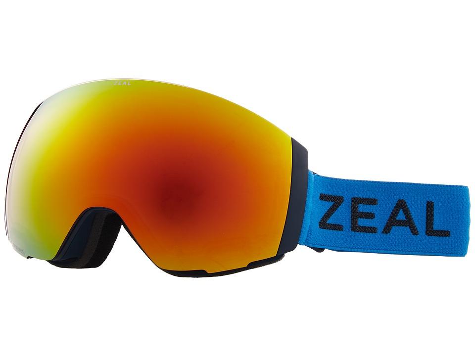 Zeal Optics Portal (Azure w/ Phoenix Mirror Lens + Sky Blue Mirror Lens) Snow Goggles