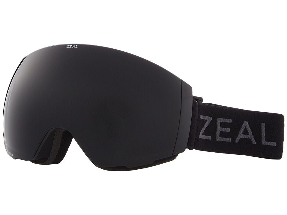 Zeal Optics Portal (Dark Night w/ Dark Grey Lens + Sky Blue Mirror Lens) Snow Goggles