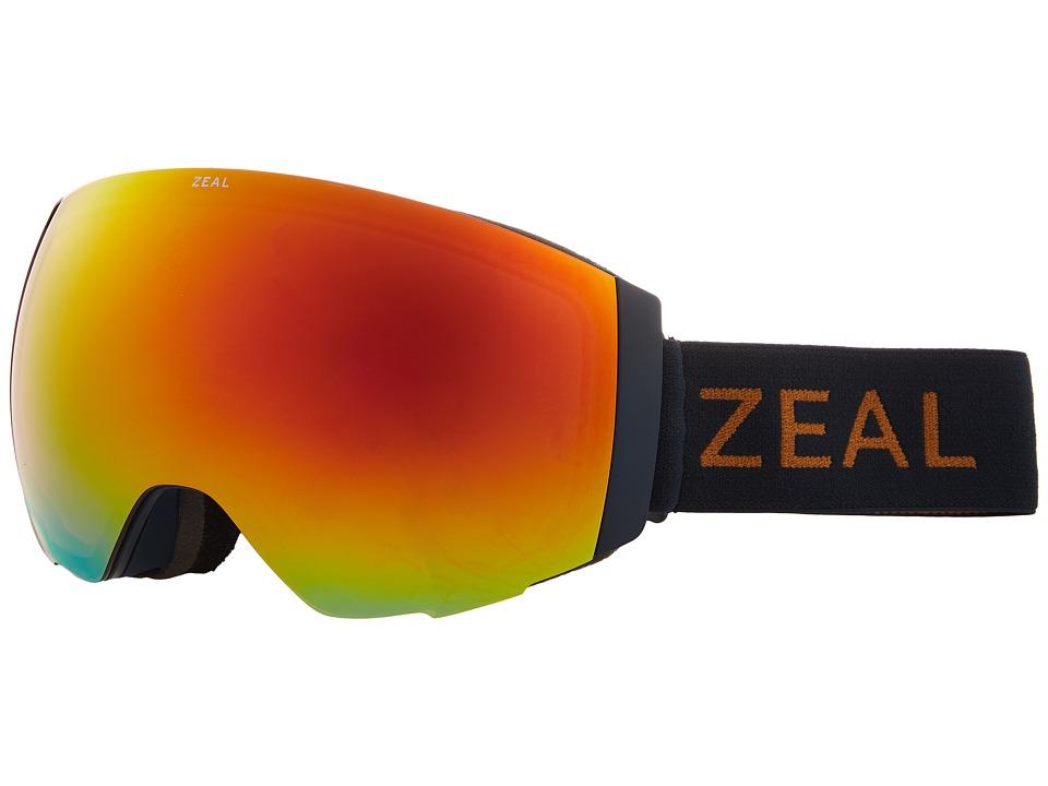 Zeal Optics Portal (Navajo Navy w/ Phoenix Mirror Lens + Sky Blue Mirror Lens) Snow Goggles